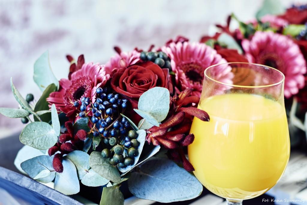 walentynkowe kompozycje kwiatowe