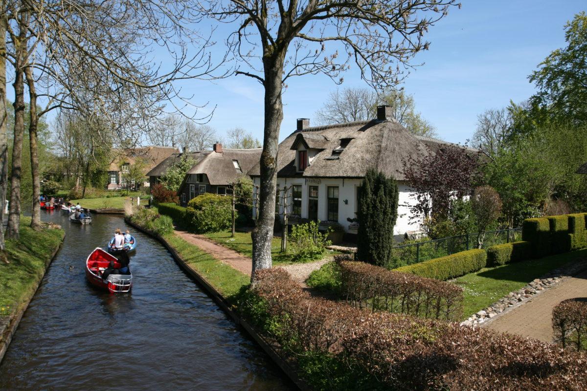 Giethorn - mała Wenecja w Holandii