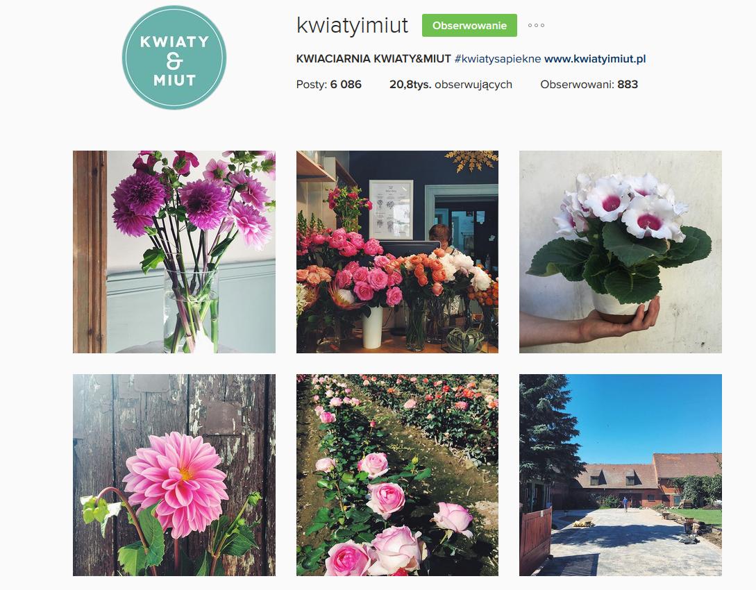 5 najpiękniejszych profili kwiatowych na instagramie